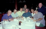 Friends since grade school: Vinnie Burns, Ken Barkin, Frank Eberling, Rock Levinson, Charlie Pape, Rich Leibowitz, Jim D