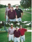 Circa 2008: Frank Eberling, Charlie Pape, Ken Connors and Vinnie Burns in Vegas