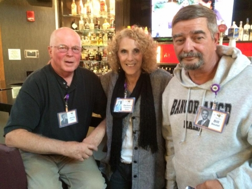 Jerry Cole, Barbara Fishberg, Bill Beutel