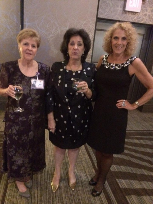 Rita Naclerio, Shelly Epstein, Barbara Fishberg