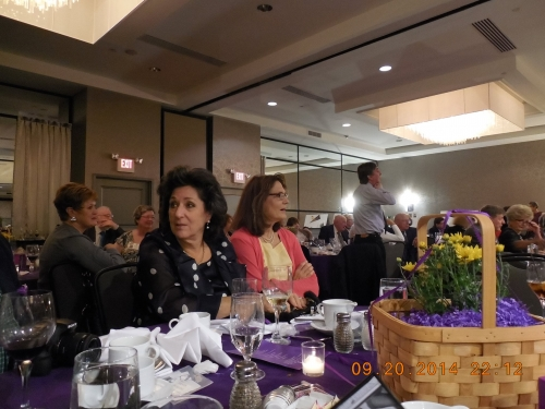 Susan Butler, Carolyn Duzy in background; Shelly Epstein, Suzanne Coletta in foreground