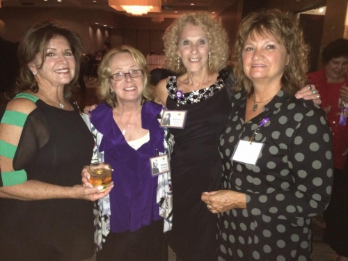 Rhona Steckler, Nancy Robinson, Barbara Fishberg, Bonnie Gerken