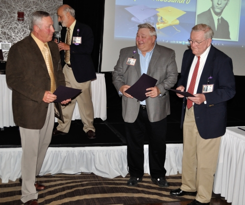Bob Lawson, Dave Forsberg, Coach McGrath: Sports Awards
