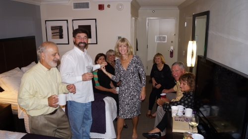 'The After Party': Ralph, Don, Laurel, Rhona, Phyllis, Ellen, Bob, Bonnie