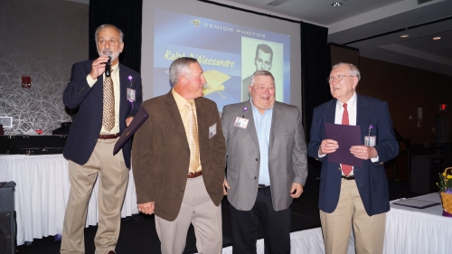 Ralph D'Alessandro, Bob Lawson, Dave Forsberg, Ed McGrath (Sports Awards)