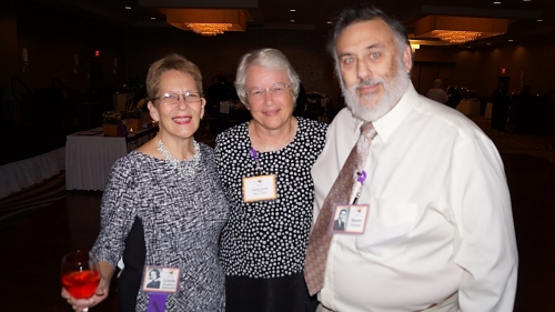 Linda Goddard, Valerie and Newt Powell
