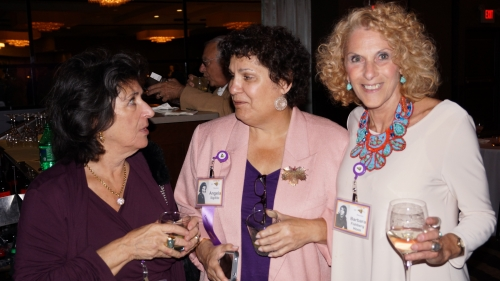 Shelly Epstein, Ange Sigillito, Barbara Fishberg