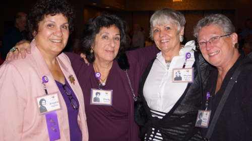 Ange Sigillito, Shelly Epstein, Phyllis Prentice, Betty Basnight